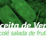Picolé salada de frutas