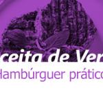 Hambúrguer prático