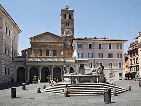 Basilica-di-Santa-Maria-in-Trastevere-di-Roma--2222