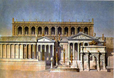 Templo-de-Castor-e-Pólux.